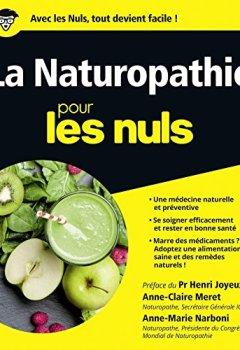 Livres Couvertures de La Naturopathie pour les Nuls