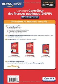 Livres Couvertures de Concours Contrôleur des Finances publiques (DGFIP) - Catégorie B - Tout-en-un - Concours 2017-2018