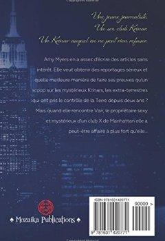Livres Couvertures de Le Club X (Une histoire Krinar)