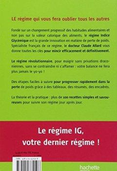 Livres Couvertures de IG Indice Glycémique : Votre dernier régime !