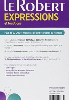 Livres Couvertures de Dictionnaire d'expressions et locutions