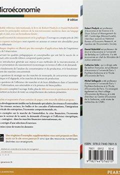 Livres Couvertures de Microéconomie 8e Edition