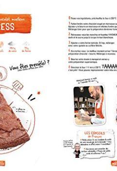 Livres Couvertures de Devenez l'expert mondial du gâteau au chocolat: La 1ère référence officielle sur Terre -Fondant - Mousseux - Croquant - Moelleux