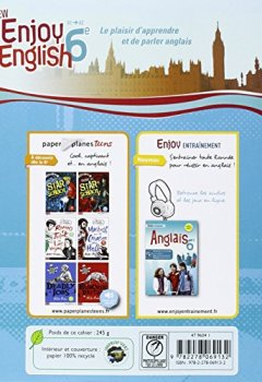 Livres Couvertures de New Enjoy English 6e - Workbook