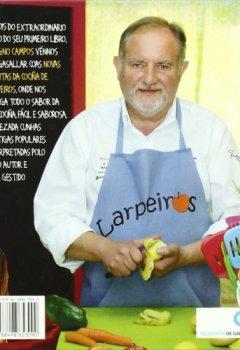 Portada del libro deNovas receitas da cociña de Larpeiros + CD (Varios)