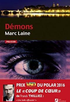 Livres Couvertures de Démons. Coup de coeur de Franck Thilliez. Prix VSD 2016