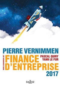 Livres Couvertures de Finance d'entreprise 2017 - 15e éd.