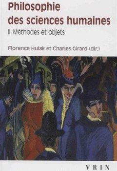 Livres Couvertures de Philosophie des sciences humaines : Volume 2, Méthodes et concepts