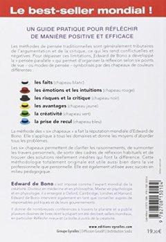 Livres Couvertures de Les six chapeaux de la réflexion : La méthode de référence mondiale