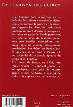 Livres Couvertures de La Trahison des Clercs
