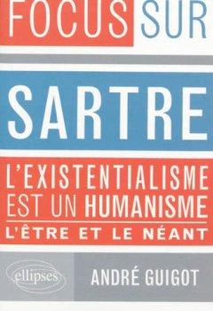 Livres Couvertures de Sartre l'Existentialisme est un Humanisme l'Être et le Néant