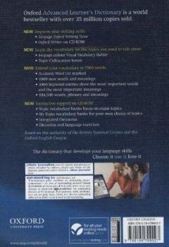 Livres Couvertures de Oxford advanced learner's dictionary : 8th edition (1Cédérom)