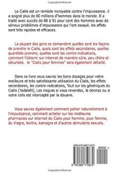 Livres Couvertures de Cialis: Effets, dosages, utilisation, achetez du Cialis, Cialis generique (Tadalafil) et d'autres stimulants sexuels en ligne, de qualite et pas cher.