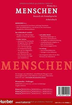 Livres Couvertures de Menschen Sechsbandige Ausgabe: Arbeitsbuch A2.1 MIT Audio-CD