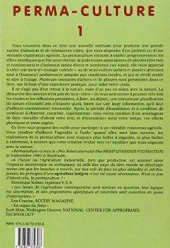 Livres Couvertures de Perma-culture, tome 1