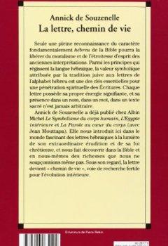 Livres Couvertures de La Lettre, chemin de vie : Le symbolisme des lettres hébraïques