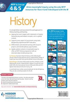 Livres Couvertures de History for the IB MYP 4 & 5: By Concept