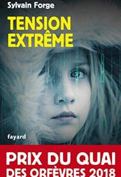 Livres Couvertures de Tension extrême : Prix du Quai des orfèvres 2018