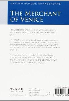 Livres Couvertures de Oxford School Shakespeare: Merchant of Venice
