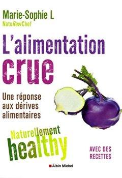 Livres Couvertures de L'Alimentation crue - Naturellement healthy
