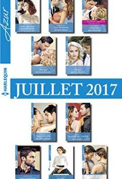 Livres Couvertures de 10 romans Azur + 1 gratuit (nº3845 à 3854 - Juillet 2017)