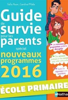 Livres Couvertures de Guide de survie pour les parents - école
