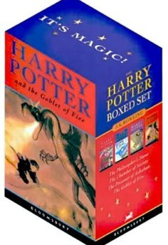 Abdeckungen Harry Potter Paperback Box Set: Four Volumes by J. K. Rowling (2001-10-08)