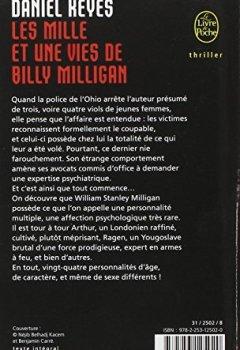 Livres Couvertures de Les Mille et Une Vies de Billy Milligan
