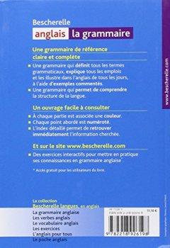 Livres Couvertures de Bescherelle - anglais : la grammaire