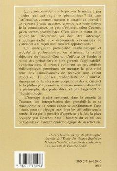 Livres Couvertures de Probabilités et critique philosophique selon Cournot