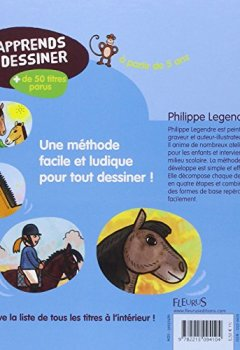Livres Couvertures de J'apprends à dessiner Chevaux et poneys
