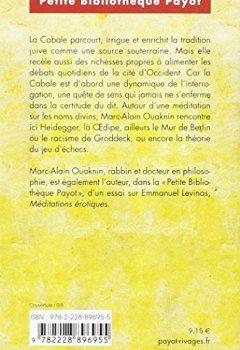 Livres Couvertures de La Kabbale et sa symbolique