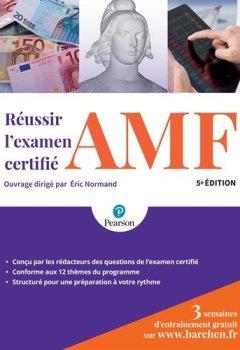 Livres Couvertures de Réussir l'examen certifié AMF 5e édition