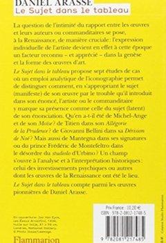 Livres Couvertures de Le Sujet dans le tableau : Essais d'iconographie analytique