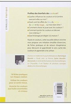 Livres Couvertures de La chromothérapie: Couleurs et lumière de votre bien-être.
