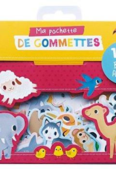 Livres Couvertures de 100 gommettes bebes animaux (coll. ma pochette de gommettes)