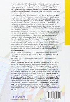Portada del libro dePlan General De Contabilidad Y De Pymes. Reales Decretos 1514/2007 Y 1515/2007, De 16 De Noviembre, Y Adaptación Al Real Decreto 1159/2010 (Economía Y Empresa)