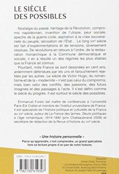 Livres Couvertures de Le siècle des possibles (1814-1914)