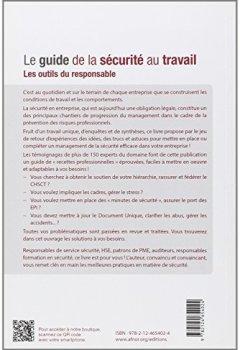Livres Couvertures de Le guide de la sécurité au travail: Les outils du responsable.