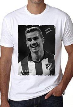 Livres Couvertures de Antoine Griezmann T-shirt,cadeau,Homme,Blanc, M,t shirt homme