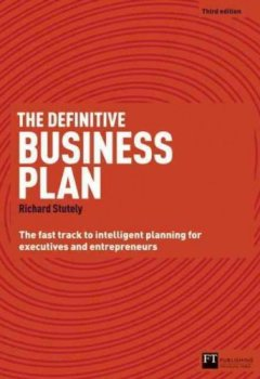 Livres Couvertures de [(The Definitive Business Plan: The Fast Track to Intelligent Planning for Executives and Entrepreneurs )] [Author: Richard Stutely] [Apr-2012]