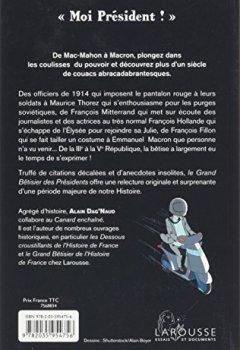 Telecharger Le grand Bêtisier des présidents de Alain Dag'Naud