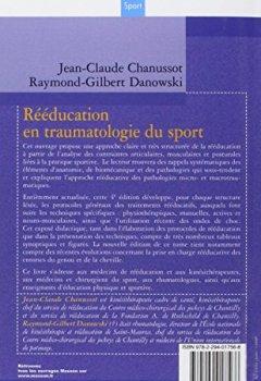 Livres Couvertures de Rééducation en traumatologie du sport: Membre inférieur et rachis