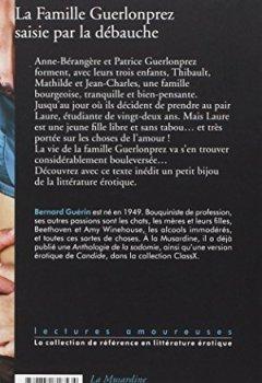 Livres Couvertures de La Famille Guerlonprez saisie par la débauche