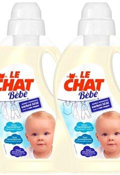 Livres Couvertures de Le Chat Bébé Lessive Liquide 50 Lavages 1,5 L - Carton de 2