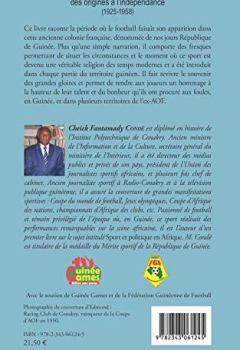 Livres Couvertures de Le football guinéen