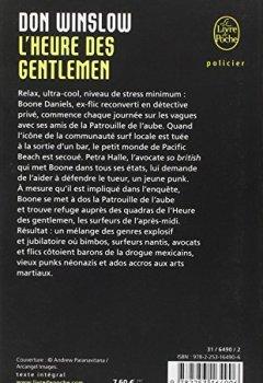 Livres Couvertures de L'Heure des gentlemen