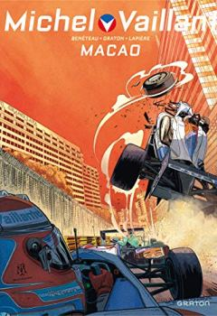 Livres Couvertures de Michel Vaillant - Nouvelle Saison - tome 7 - Macao, l'enfer du décor (Edition augmentée)