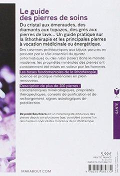 Livres Couvertures de Le guide des pierres de soins: Tout savoir sur les pierres et leurs énergies subtiles