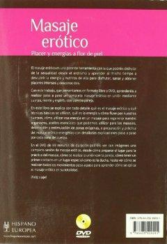 Portada del libro deMasaje erótico (+DVD) (Salud Y Vitalidad)